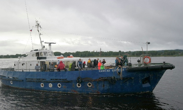 Онежский прокурор отправил теплоход «Капитан Митягин» на ремонт