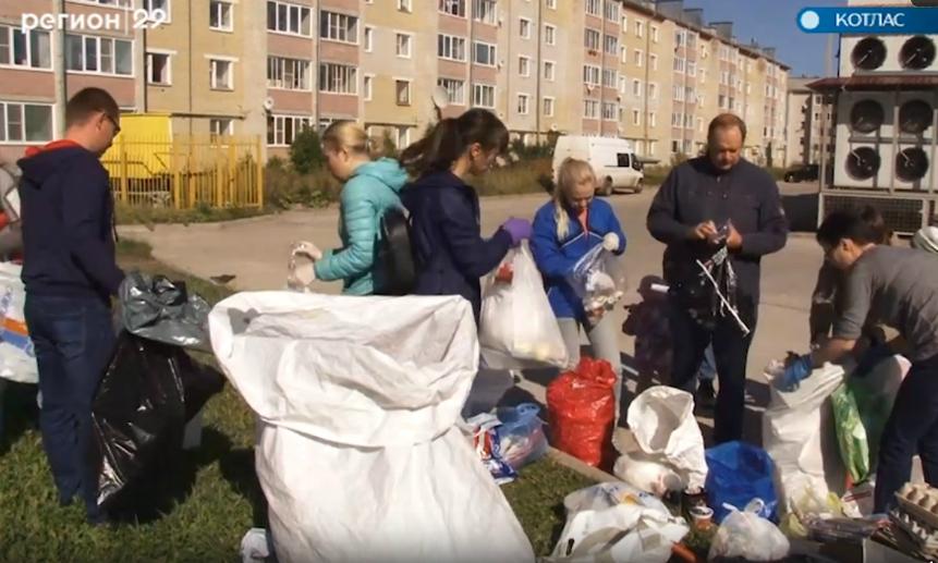 Спасите ёжика: вКотласе внедряют раздельный сбор мусора