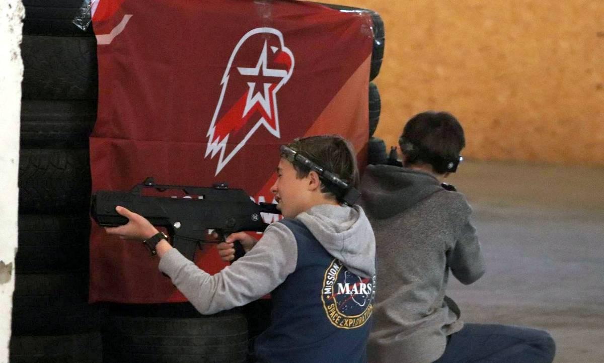В Архангельске проходит большой турнир по лазертагу