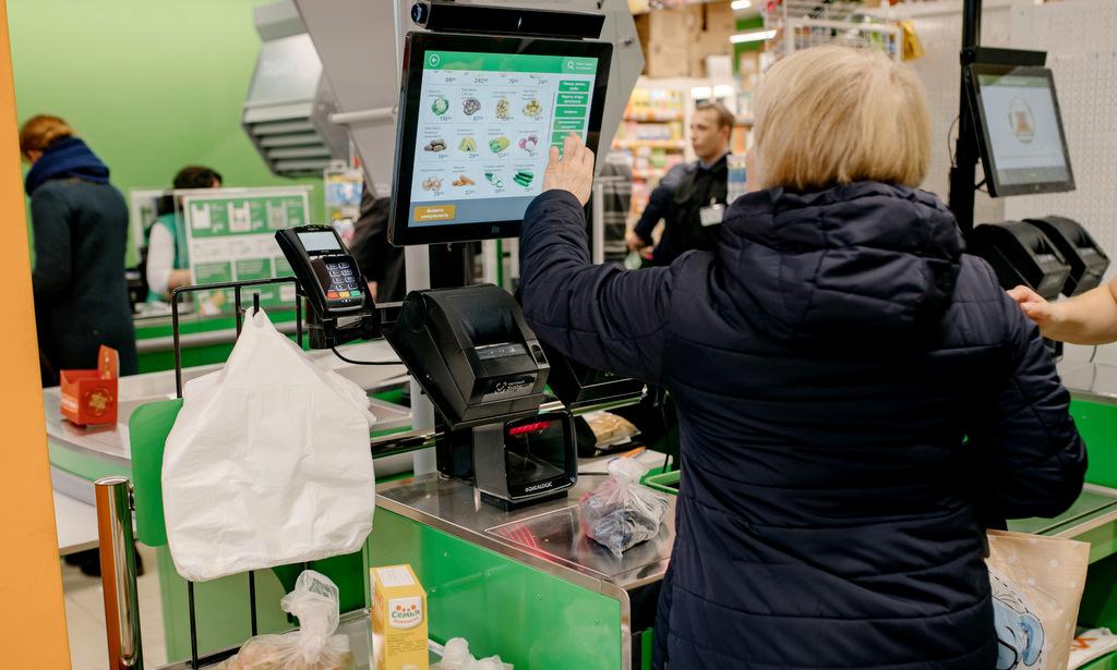 В супермаркетах на проспекте Ломоносова, 88 и 286 установлены кассы самообслуживания. Новый сервис поможет покупателям сэкономить время.