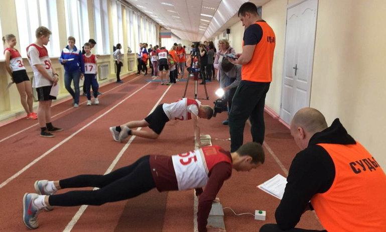 В Архангельске спортсмены с инвалидностью сдали нормы ГТО